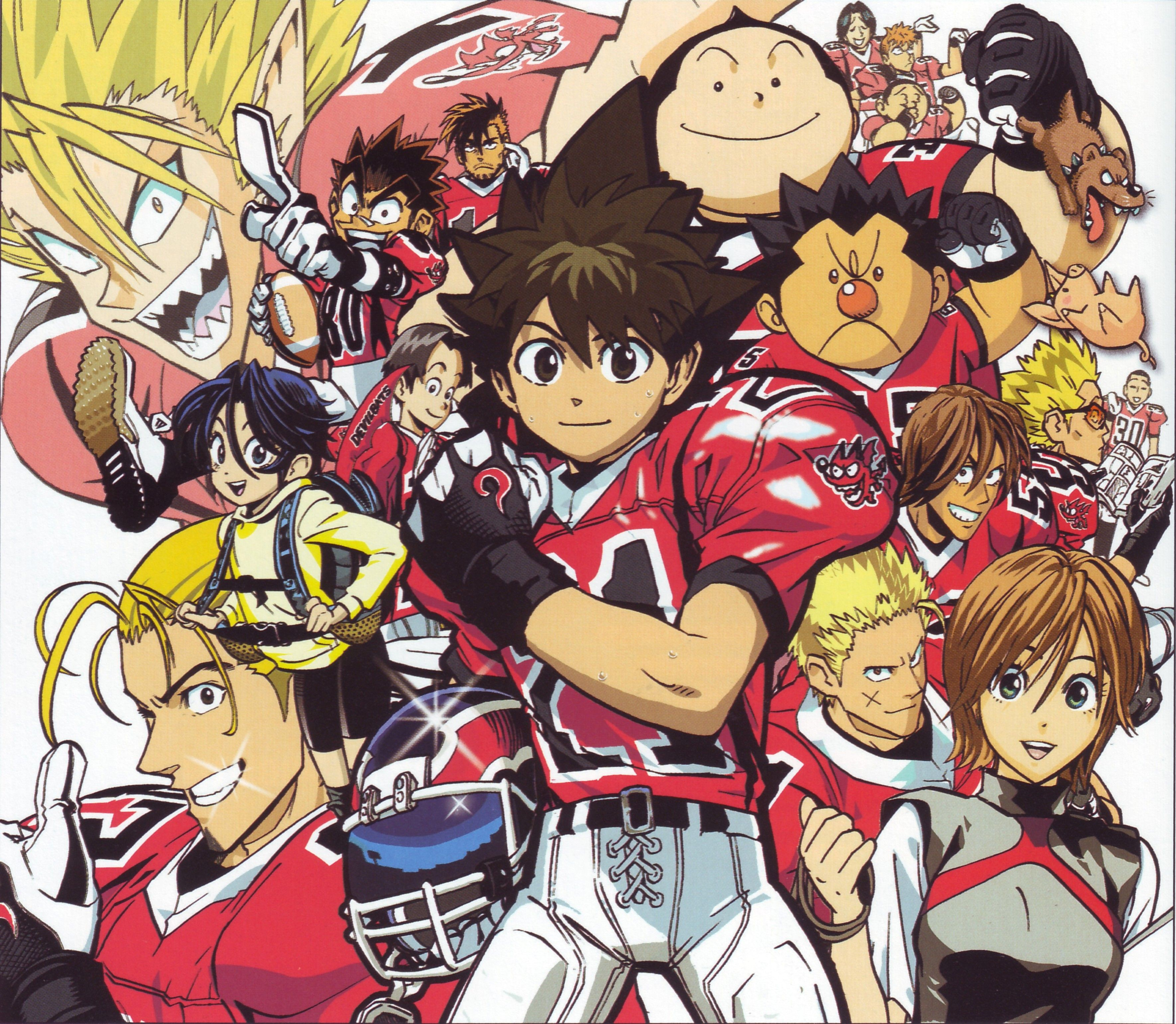 eyeshield 21 Szukaj w Google Animé, Manga