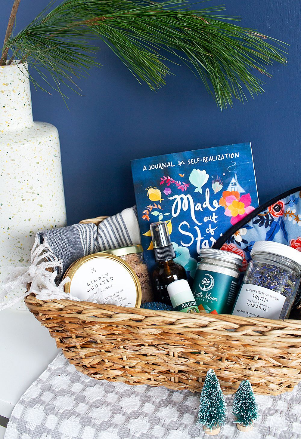 How to Make a SelfCare Gift Basket for your S.O.S