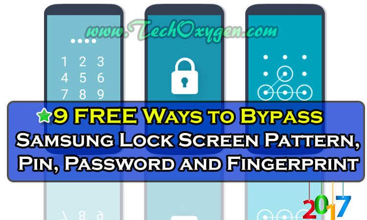 Bypass Samsung Lock Screen Pattern Pin Password Works 100