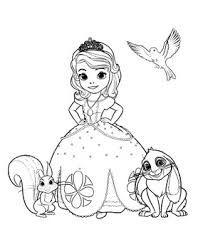 Desenho Da Princesa Sophia Para Colorir E Imprimir Pesquisa