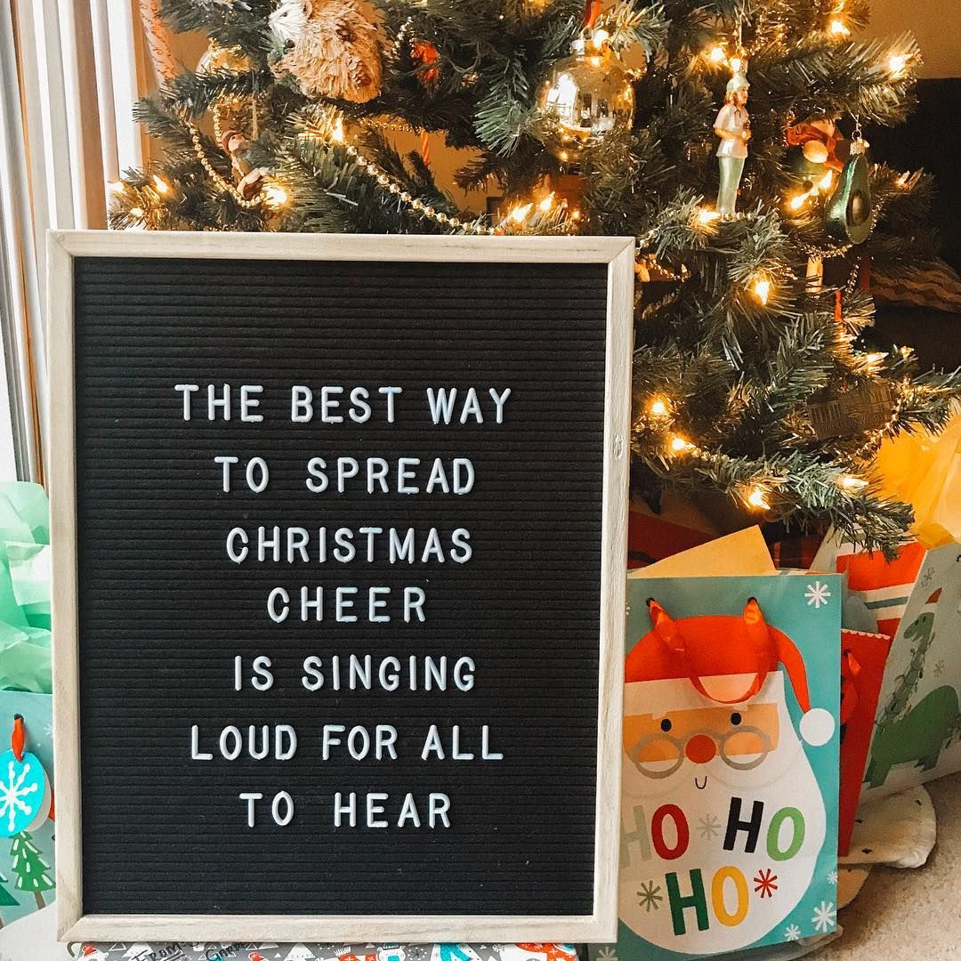 elf quotes letterboard funny christmas meme sayings movie
