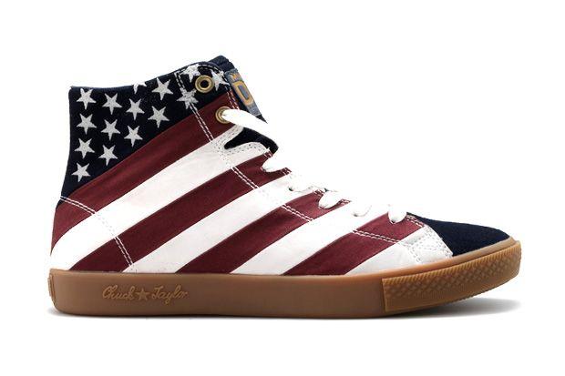 """Converse Chuck Taylor """"Born in USA"""" par Dr Romanelli  f2783f1dd"""