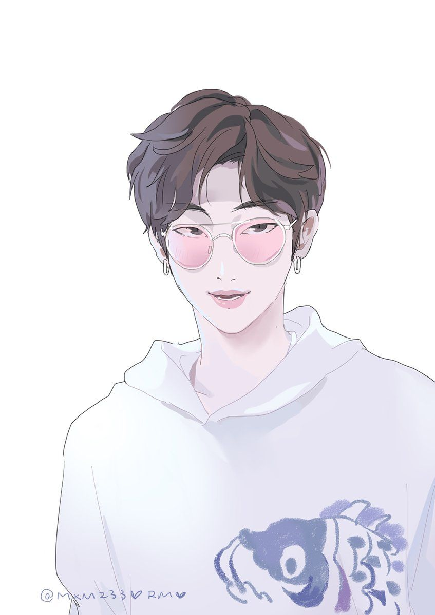 小鱼干梦工厂 On Bts Drawings Anime Korean Art