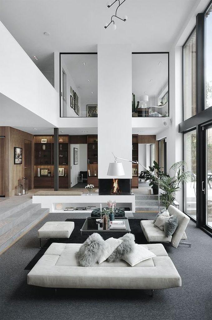 25 Amazing Interior Design Ideas For Modern Loft In 2020 Modern House Design Minimalism Interior House Interior