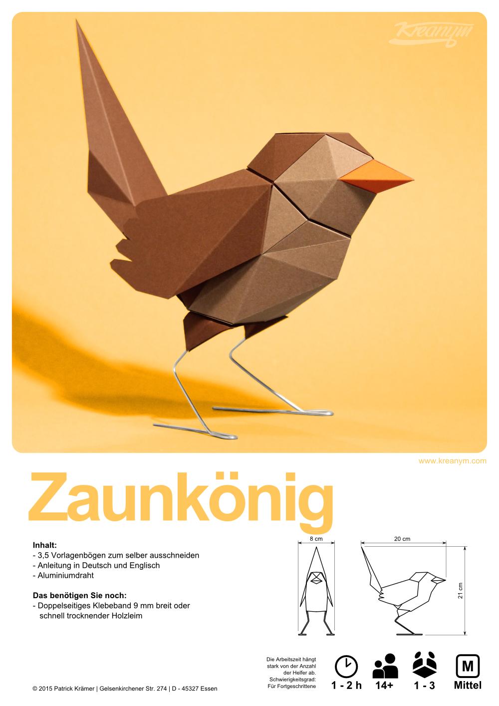 Der 3 und vorerst letzte sperlingsvogel passend zum rotkehlchen der 3 und vorerst letzte sperlingsvogel passend zum rotkehlchen und der blaumeise die geometrische diy origamiorigami papergame jeuxipadfo Images