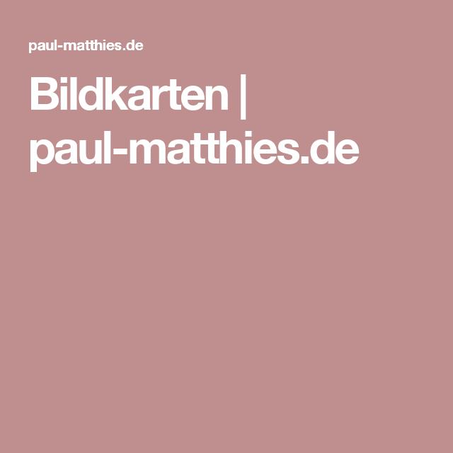 Bildkarten | paul-matthies.de