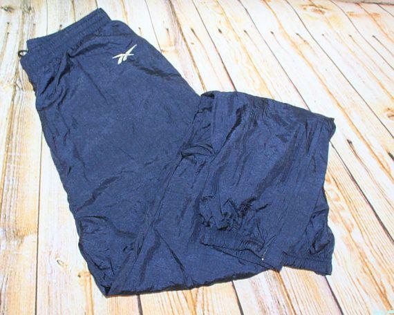 Sergio Tacchini SILKY retro  track bottoms trousers pants 28 W 90s