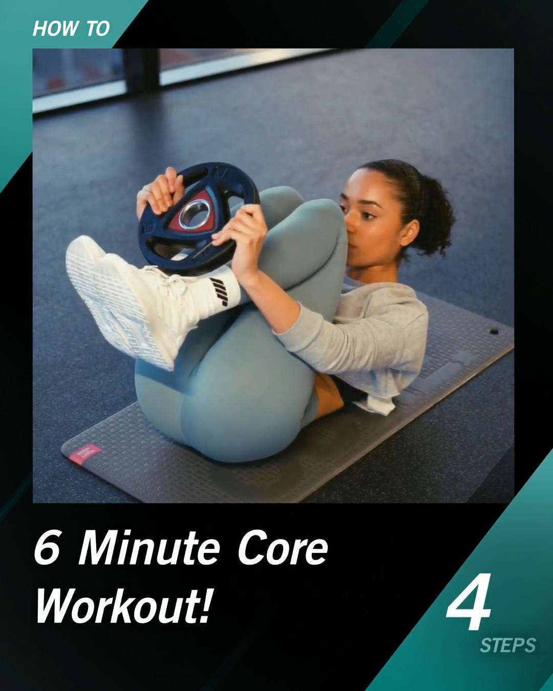 6 Minute Core Workout