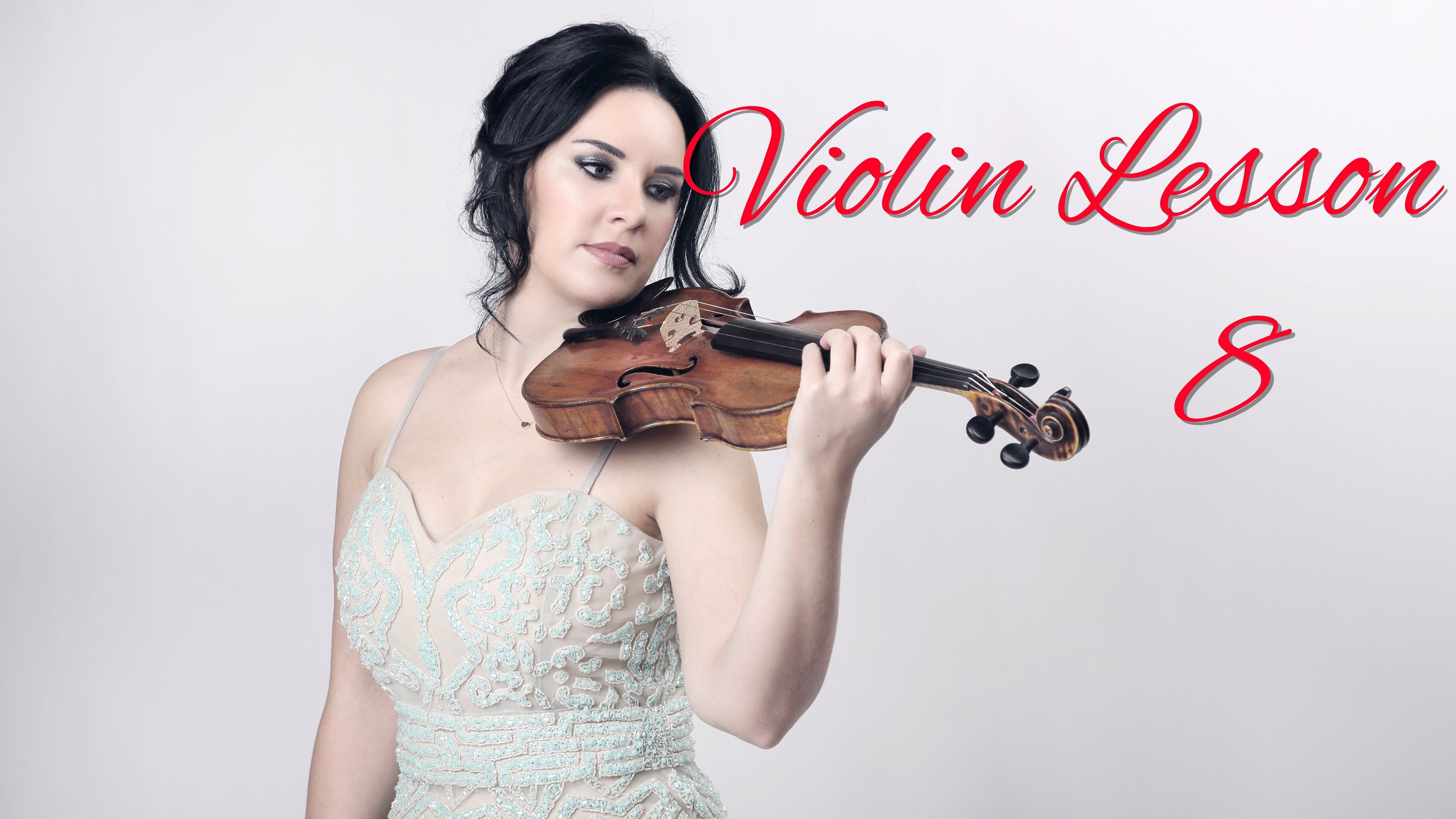 How to Play the VIOLIN - Lesson 8 - 3rd & 4th finger exercises