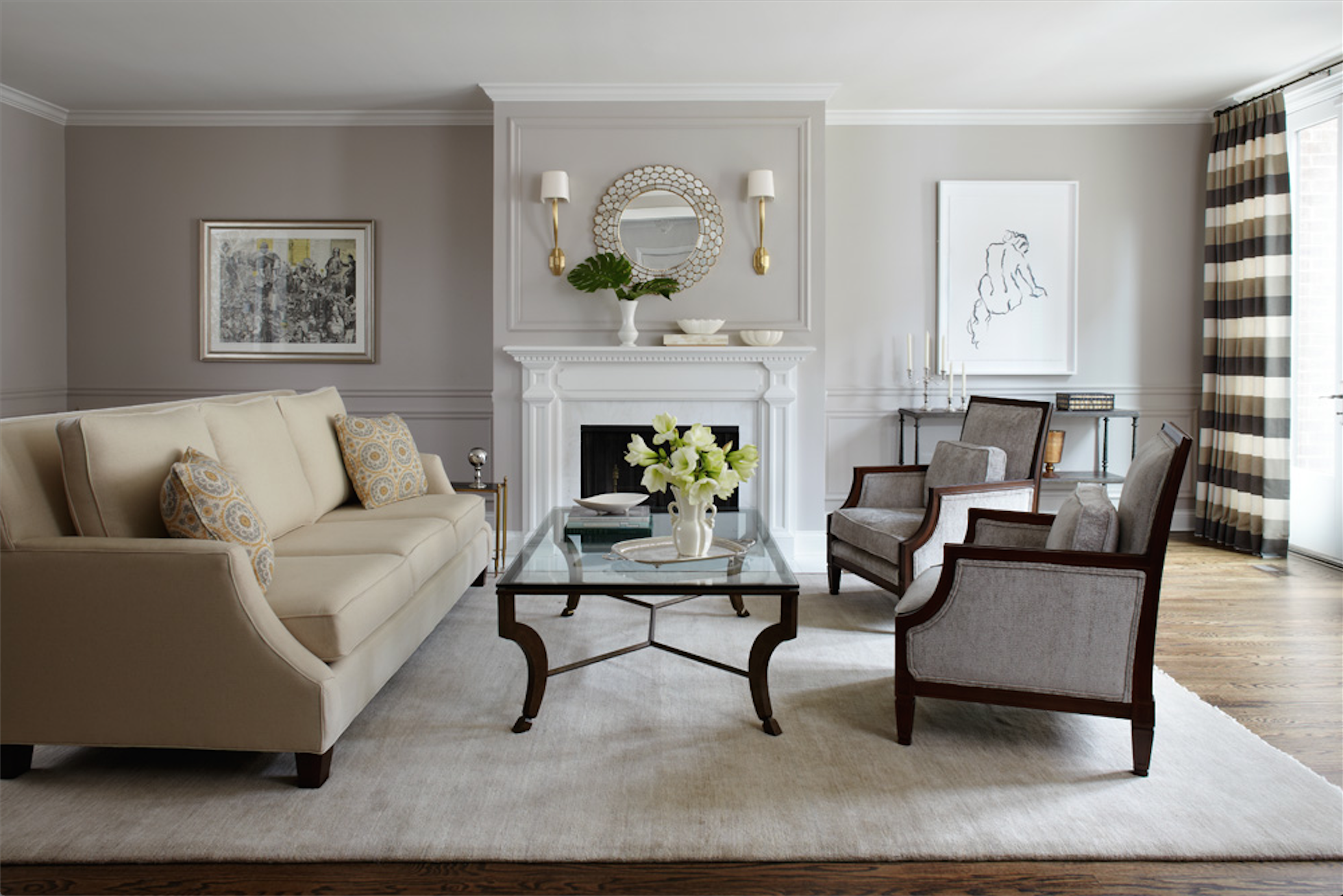 50 stylish neutral-hued rooms | living rooms, walls and room