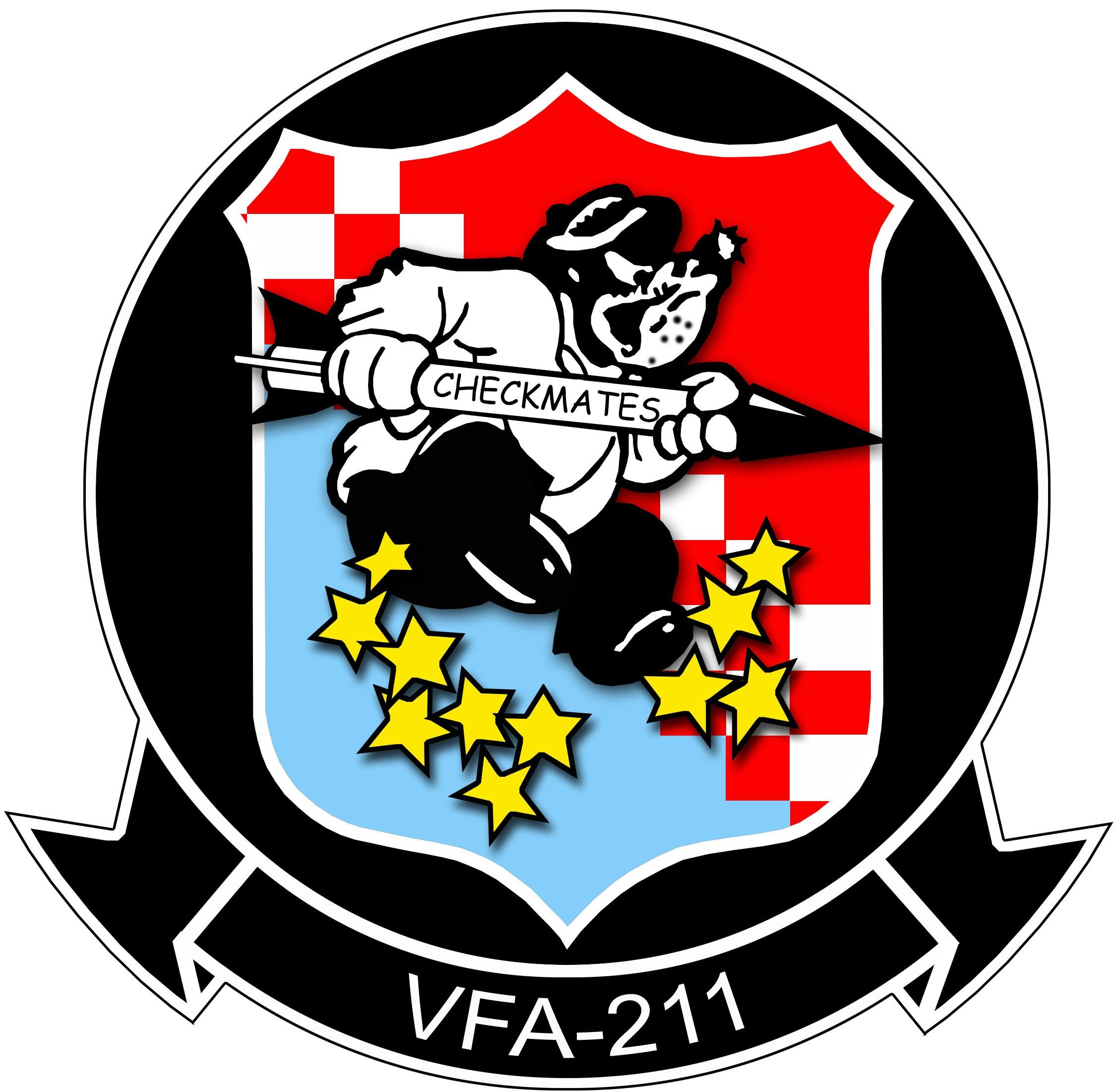 Vfa 211 us navy wikipedia the free encyclopedia evolution fighting checkmates crest insignia patch badge strike fighter squadron super hornet us navy biocorpaavc