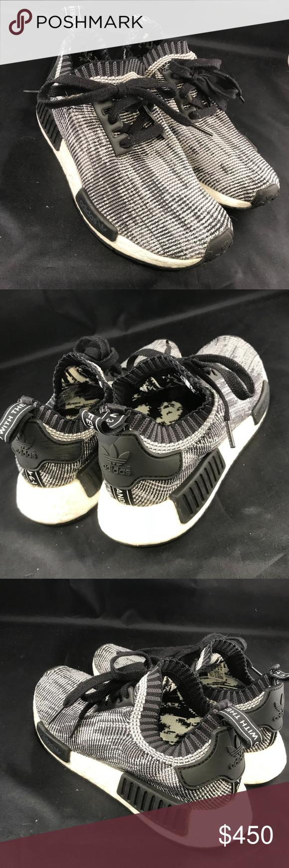 a5b500fafa5fe Adidas NMD Runner PK Glitch Camo Black White Nomad Adidas NMD Runner PK  Glitch Camo Black White Nomad s79478 Great condition! Mens 6 womens 7.5  ADIDAS Shoes ...