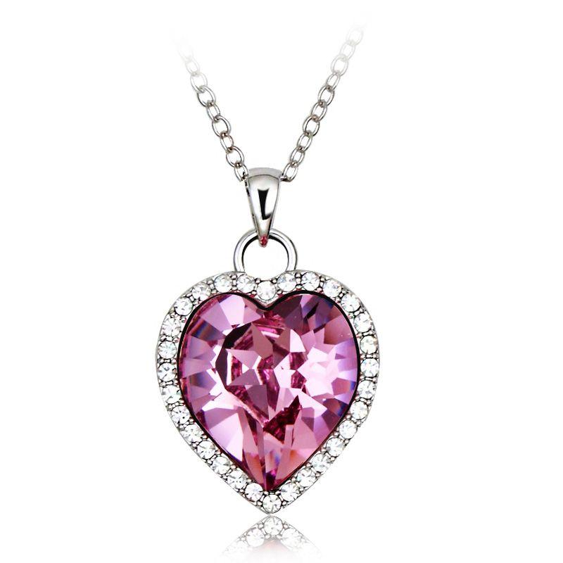 Swarovski collier rosa