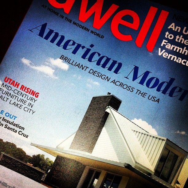 dwell is probably the greatest design magazine ever that talks about dwellings and the people that dwell in them. #dwell