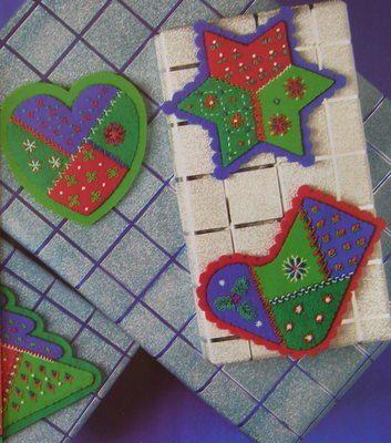 Felt Christmas Ornaments Templates - Bing Images