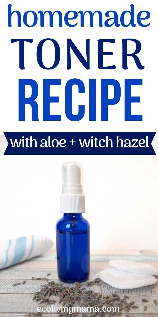 How to Make DIY Face Toner with Witch Hazel and Aloe Vera