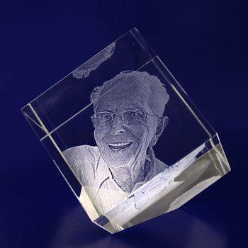 Personalised 2D Crystal Diamond - 60mm Crystal Diamond by iMAAGE on Etsy