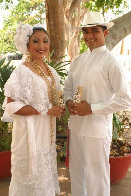 vestido de novia yucateco