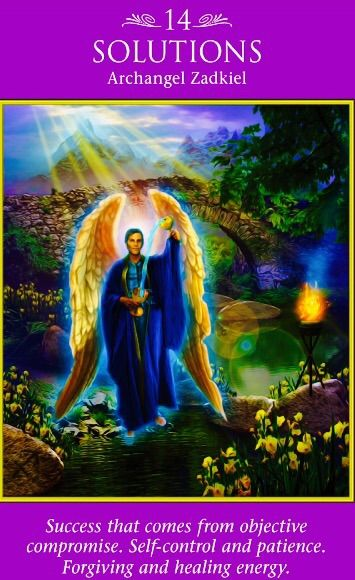 """Archangel Zadkiel: Solutions: """"Success that comes from"""