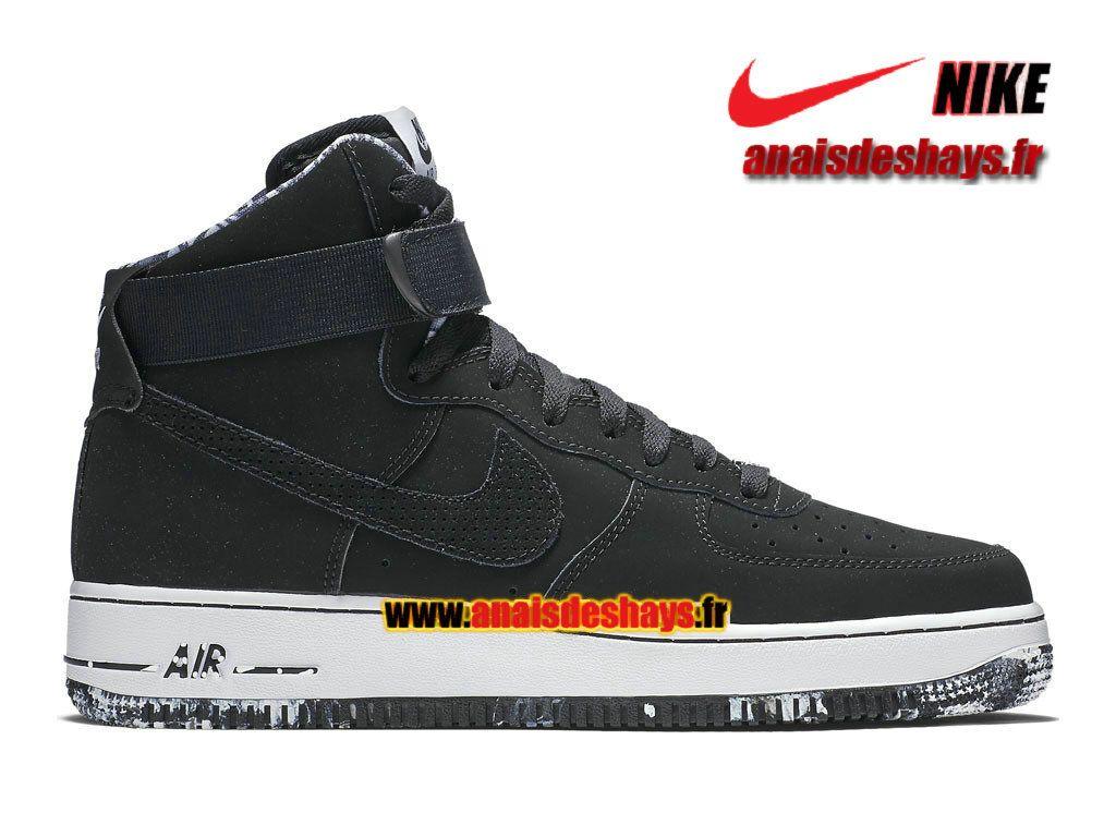 official photos 06efc 32f50 Boutique Officiel Nike Air Force 1 High 07 Homme Noir Blanc 315121-031