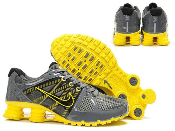Nike Shox Agent Grey / Yellow