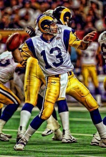 Warner My All Time Fav Ram St Louis Rams Rams Football Nfl Football Teams