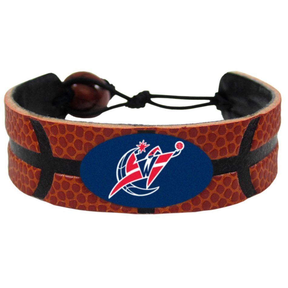 Washington Wizards Genuine Leather Bracelet