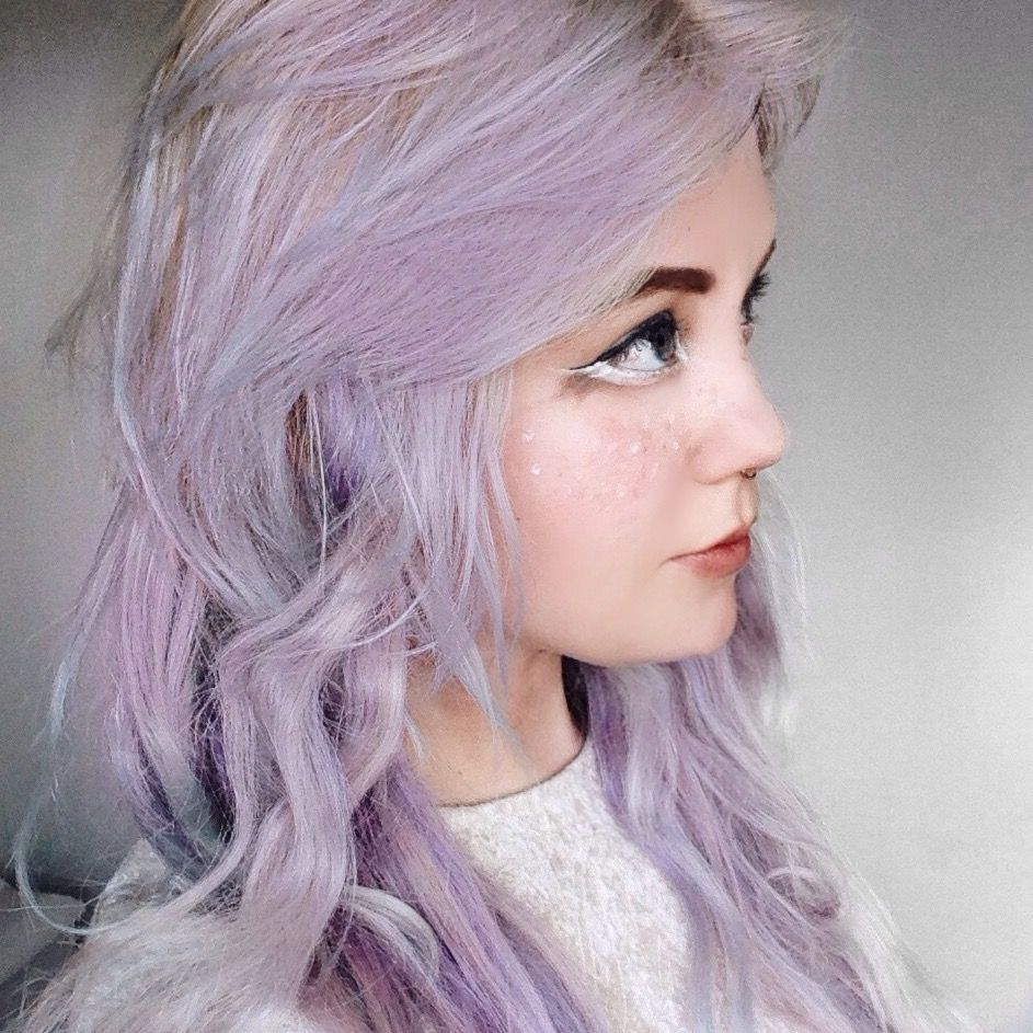 Light purple hair by Laurie Lalami on Hair Pastel hair