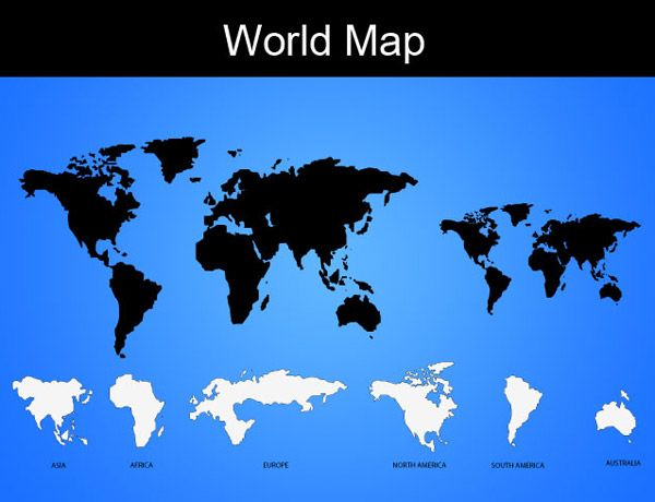 Vector world map free vectors pinterest file format in this collection you would find 40 vector world map collection eps psd ai svg png gumiabroncs Gallery