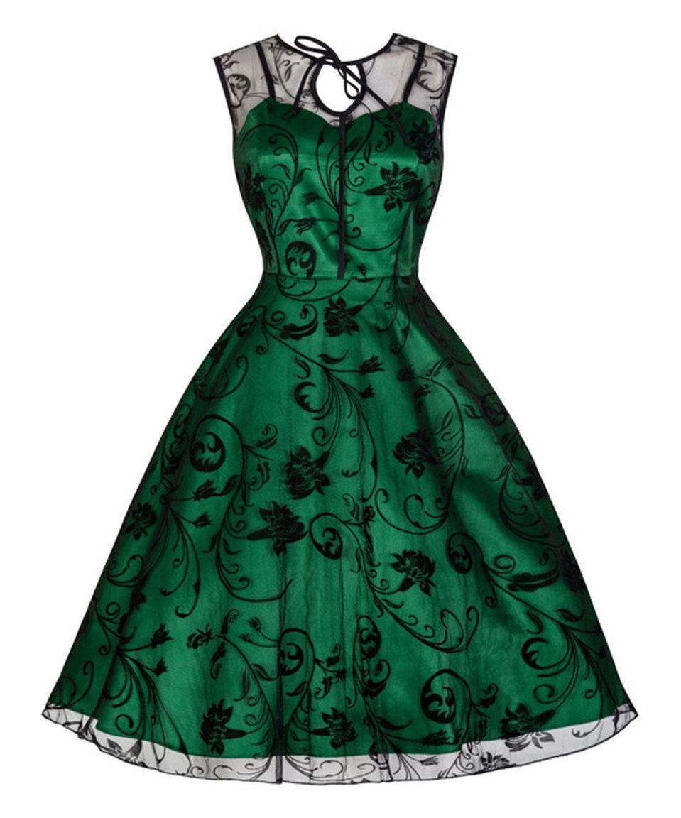 Lindy Bop Green Black Lace Frankie Jean Dress Black Cocktail Dress Vintage Short Dress Cocktail Dress Vintage [ 1152 x 959 Pixel ]