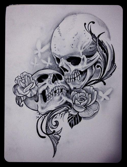 Kiss death tattoo til death us apart tattoo picture at for Love sick tattoo
