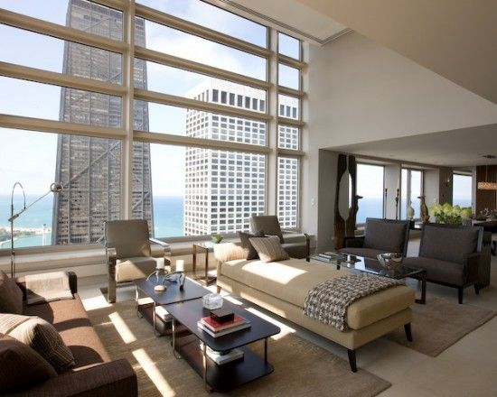 Minding Chicago Apartment Overlooking John Han Tower And Lake Michigan Olympia Centre
