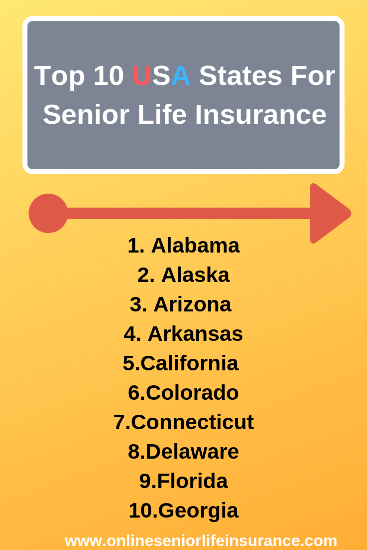 Top 10 Usa Senior Life Insurance Company Reviews Life Insurance For Seniors Life Insurance Quotes Life Insurance Companies