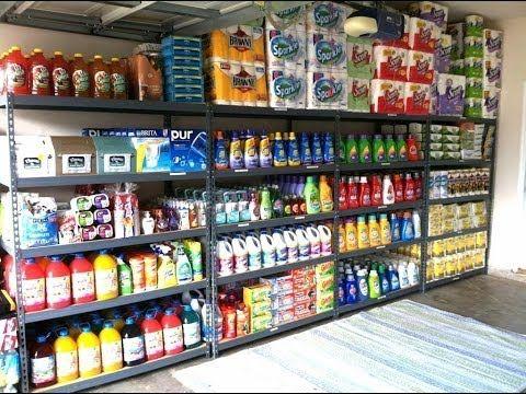 Garage Organization How I organize my coupon stockpile - YouTube