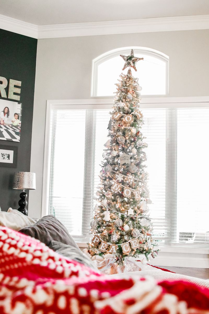 Obsessed with the slim trees!! | Skinny christmas tree ...