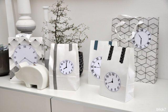 Silvester Countdown-Tüten DIY - blick7