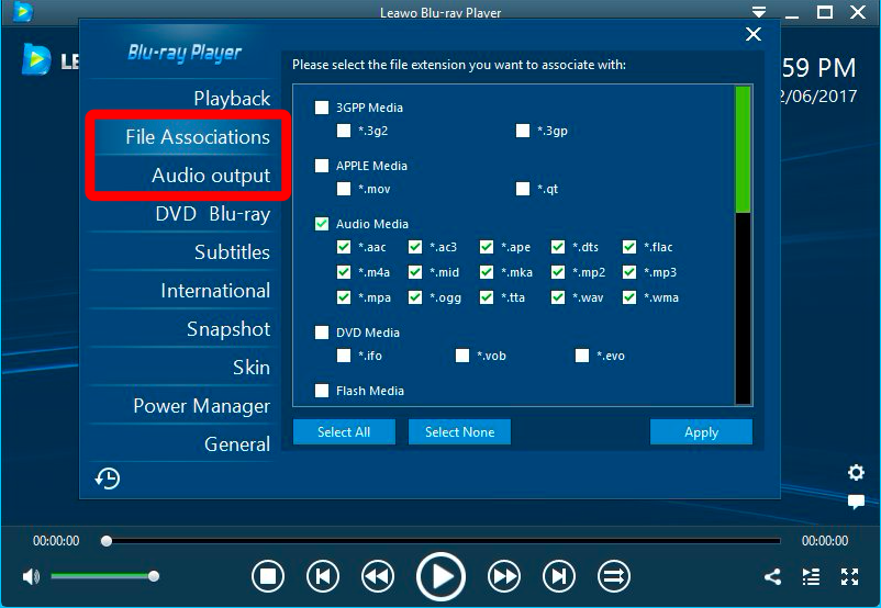 Play flac, ogg, and other file formats in windows 7 media player.