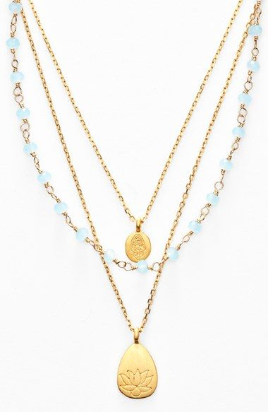 Satya Jewelry Beaded Layered Necklace (Nordstrom Exclusive