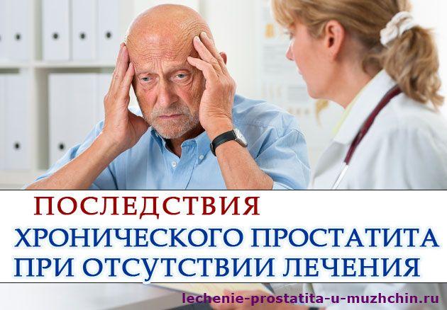 Методика лечения хронический простатита