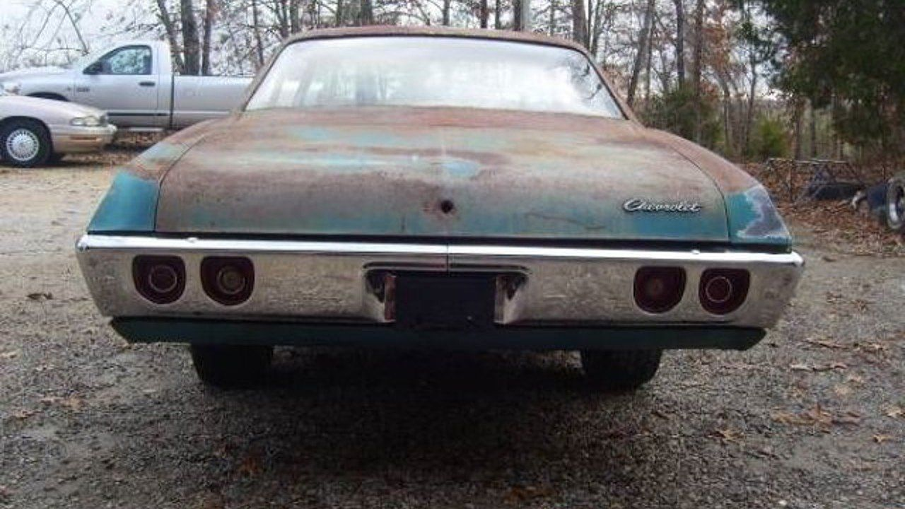 1968 Chevrolet Bel Air for sale near Cadillac, Michigan 49601 ...