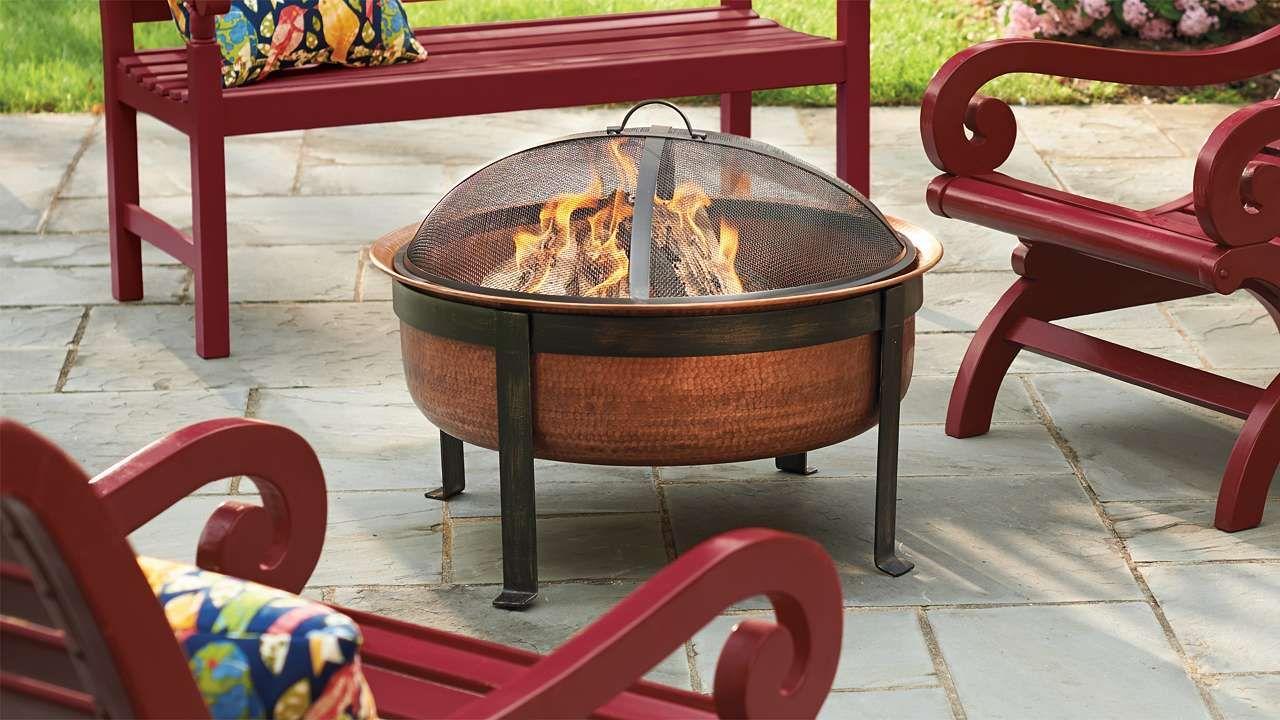 Fulton Fire Pit And Tray Backyard Ideas Fire Pit