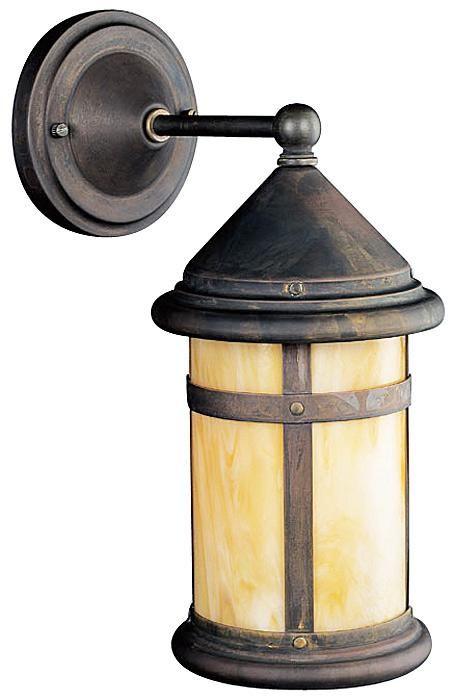 Kichler Tularosa Bronze 13 1/2 High Outdoor Wall Light -