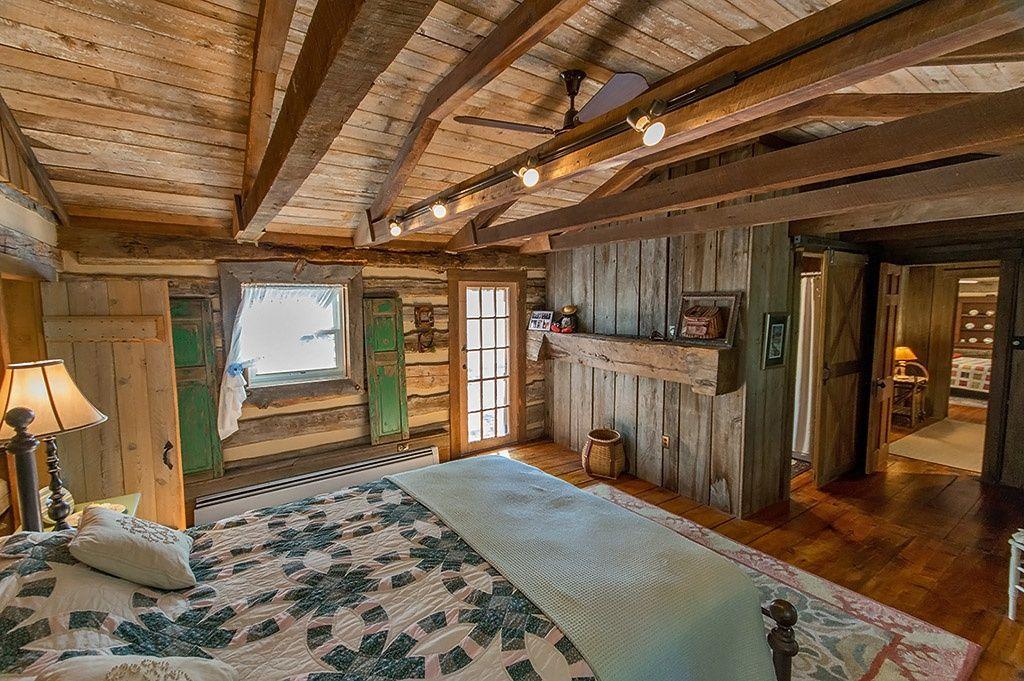 A Civil War Era Log Home For Sale In West Virginia Log
