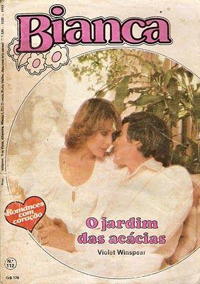 O Jardim Das Acacias Violet Winspear Bianca Nº 112 Livros De