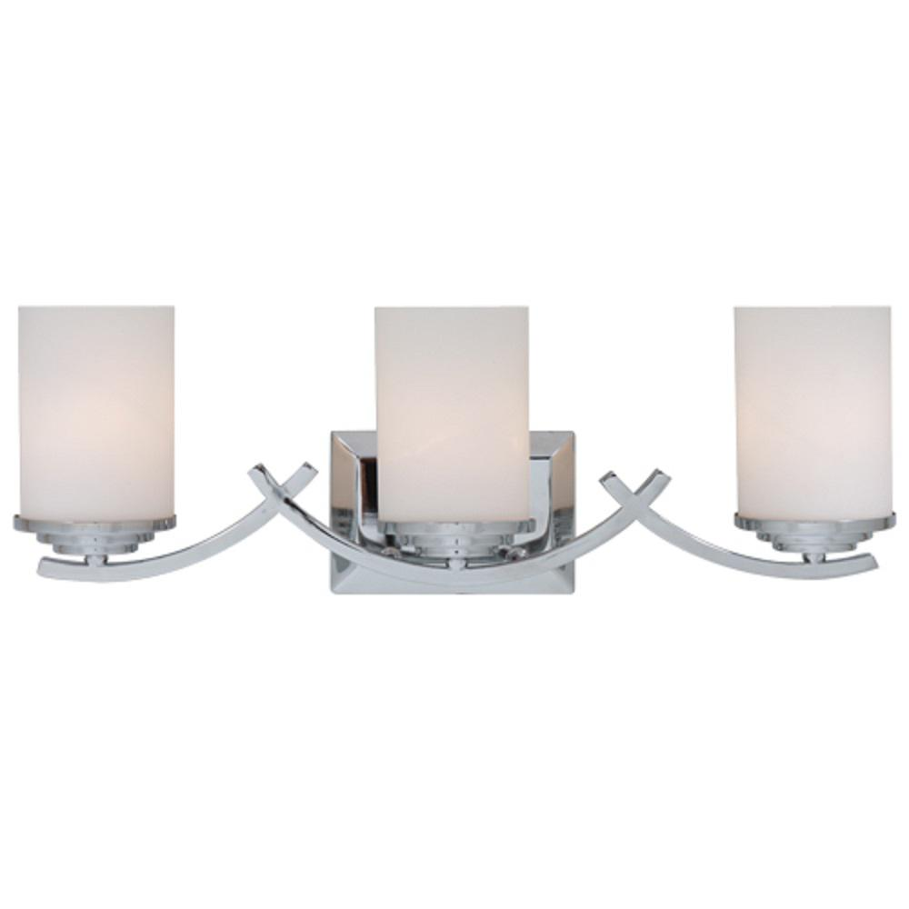 Brina 3 Light Chrome Bath Vanity Light L993ch Vanity Lighting Bathroom Vanity Lighting Bathroom Lighting