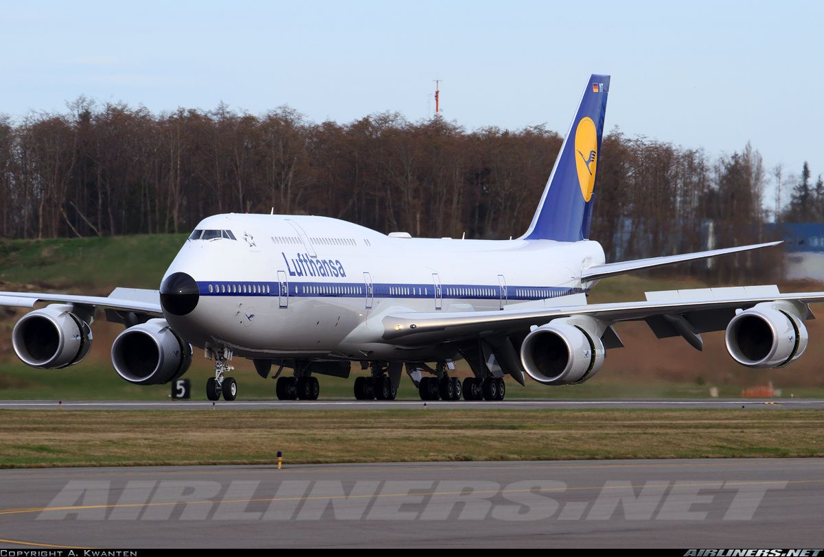 Boeing 747830 aircraft picture Boeing 747, Boeing, Aviation
