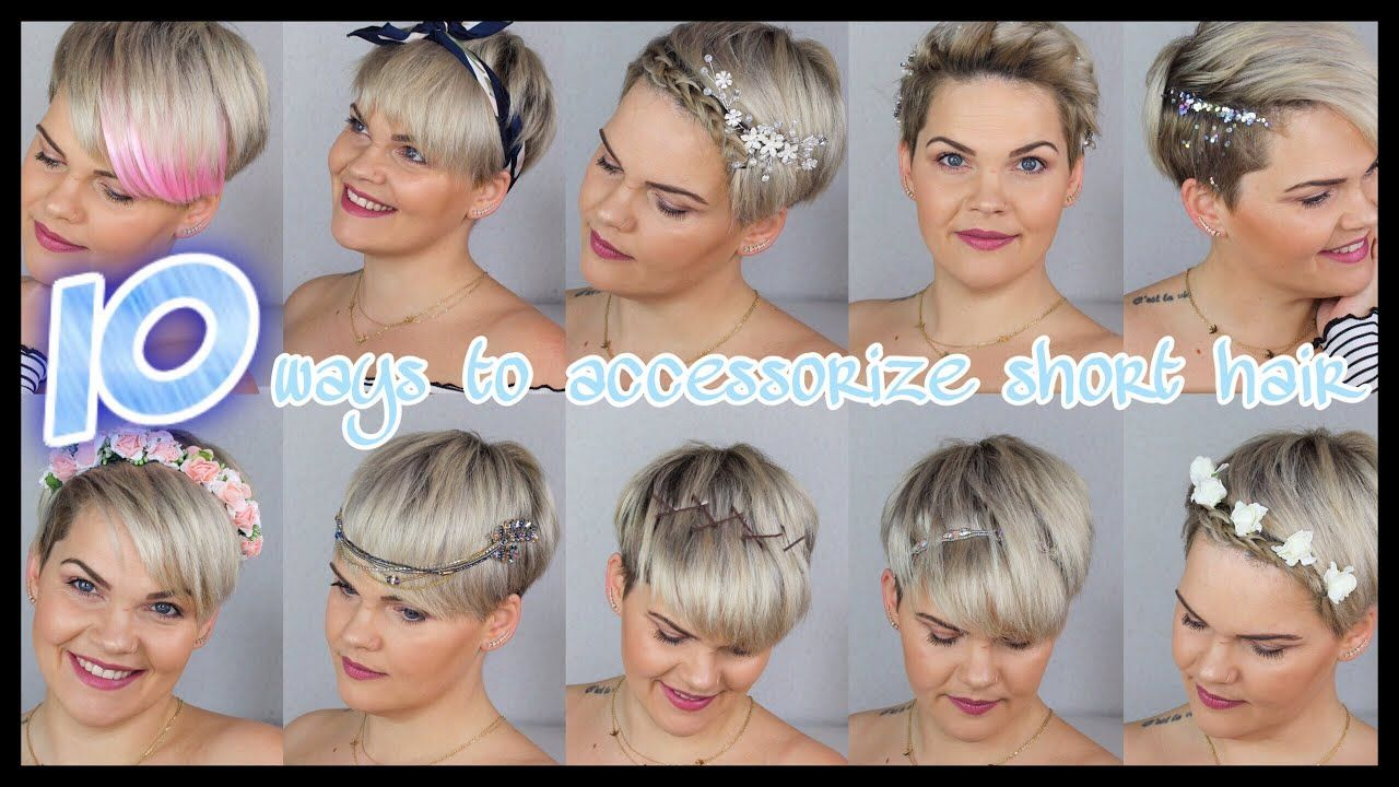 10 Einfache Frisuren Fur Kurze Haare Hochzeit Wiesn Alltag Festival Youtube Frisuren Kurzhaar Frisuren Einfach Kurze Haare