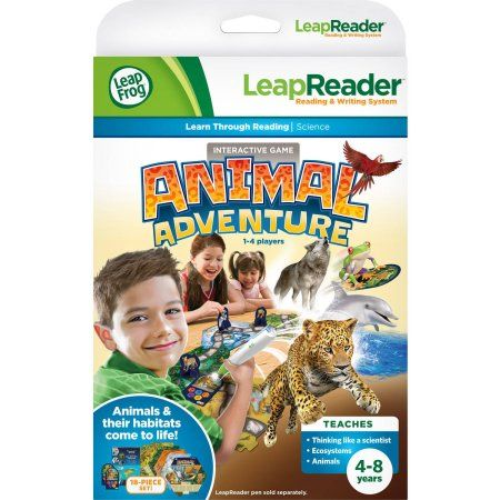 LeapFrog LeapReader Animal Adventure Quest