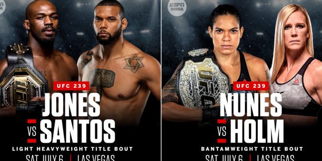 UFC 239 Błachowicz vs Rockhold live on TV Ufc