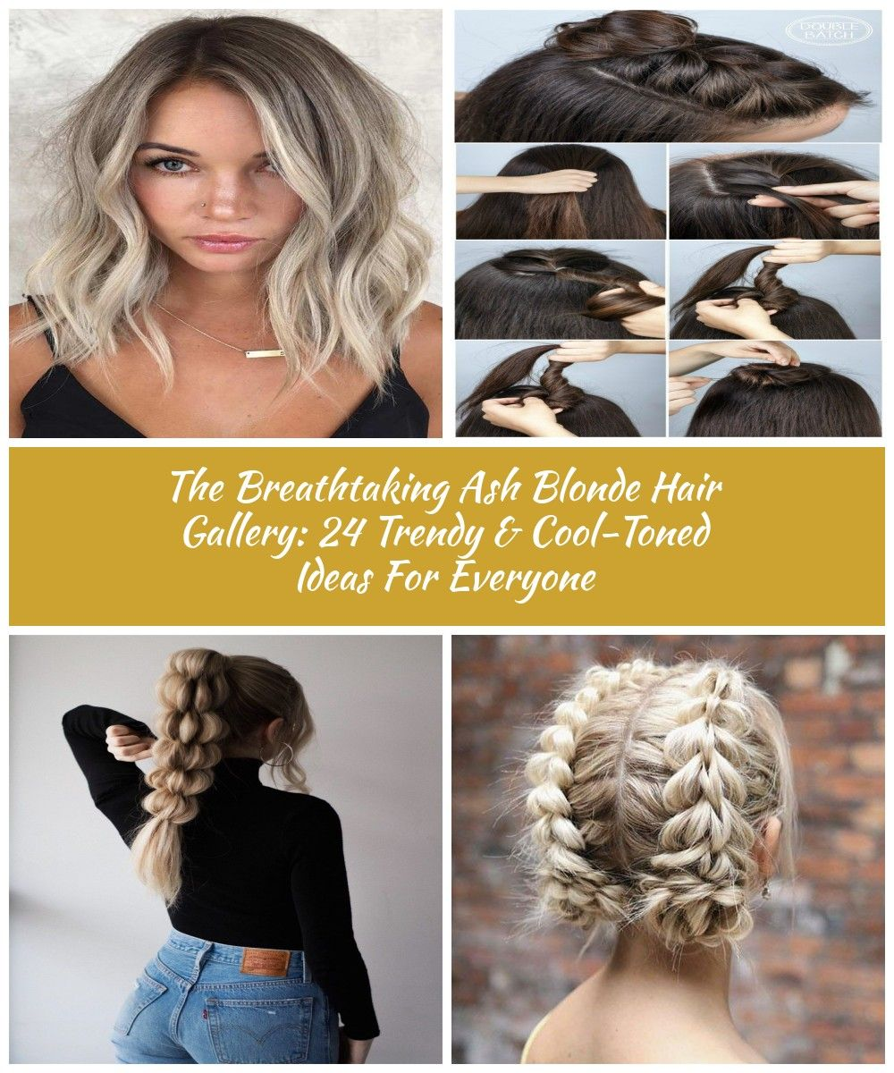 Cool Ash Blonde #blondehair ★ Ash blonde hair color is designed for ladies who want to rock the latest trends. Dive in our inspo-gallery to discover how different it can be: natural balayage ideas, icy highlights for medium brown hair, platinum hair ideas, and grey colors with lowlights are here! ★ #glaminati #lifestyle #hairstyles #haircolor #hair ideas The Breathtaking Ash Blonde Hair Gallery: 24 Trendy & Cool-Toned Ideas For Everyone #ashblondebalayage